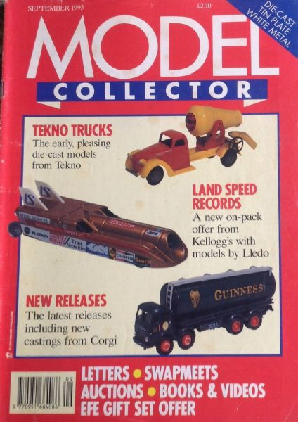 ORIGINAL MODEL COLLECTOR MAGAZINE September 1993